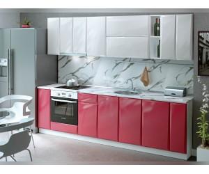 Модулна кухня MDF Гланц 280 с включен термоплот и термогръб
