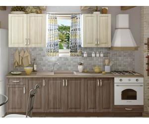 Модулна кухня MDF Винтидж 280 с включен термоплот