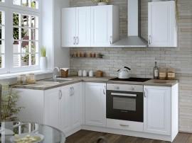 Модулна ъглова кухня MDF Винтидж 160/200 с включен термоплот