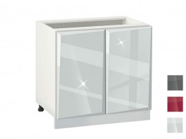 Долен кухненски шкаф MDF Гланц 1002 - 100 см.