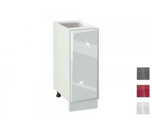 Долен кухненски шкаф MDF Гланц 250 - 25 см.