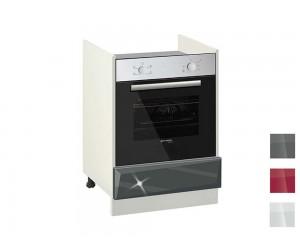 Долен кухненски шкаф за фурна MDF Гланц 601 Ф - 60 см.
