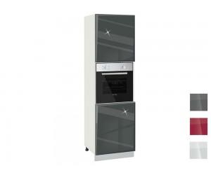 Колонен кухненски шкаф за фурна MDF Гланц 602 Ф - 60 см.