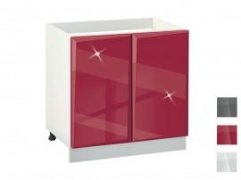 Долен кухненски шкаф за мивка MDF Гланц 800 - 80 см.