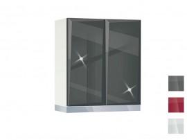 Горен кухненски шкаф за абсорбатор MDF Гланц 60 А - 60 см.