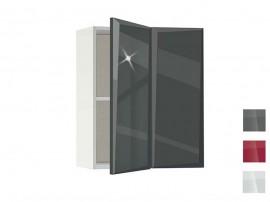 Горен кухненски шкаф за ъгъл MDF Гланц 61 - 60 см.