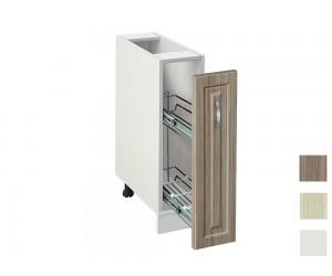 Долен кухненски шкаф- бутилиера MDF Винтидж 201 Б - 20 см.
