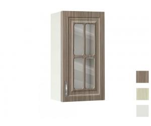 Горен кухненски шкаф с витрина MDF Винтидж 40 В - 40 см.