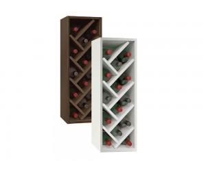 Горен кухненски шкаф за вино 28 - 25 см.