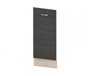 Кухненска врата за вградена съдомиялна Дорина B64 45 см. - рокфорд лайт/дъб карбон