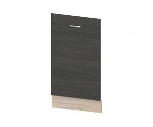 Кухненска врата за вградена съдомиялна Дорина B65 60 см. - рокфорд лайт/дъб карбон