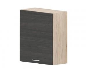 Кухненски горен шкаф Дорина G16 с врата 60 см. - рокфорд лайт/дъб карбон