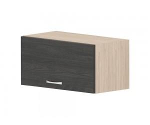 Кухненски горен шкаф Дорина G20 с клапваща врата 60 см. - рокфорд лайт/дъб карбон