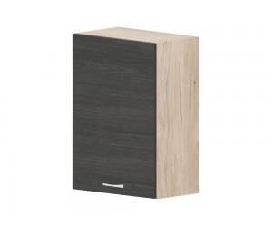 Кухненски горен шкаф Дорина G30 с врата 50 см. - рокфорд лайт/дъб карбон