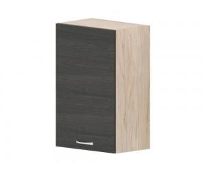 Кухненски горен шкаф Дорина G69 с врата 45 см. - рокфорд лайт/дъб карбон