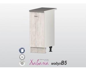 Долен кухненски шкаф Хавана B5 40 см. - дъб бланко