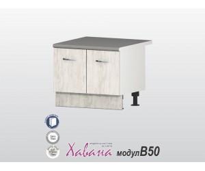 "Шкаф за печка ""Раховец"" Хавана B50 60 см. - дъб бланко"