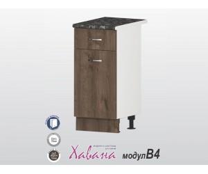 Долен кухненски шкаф Хавана B4 40 см. - дъб марон