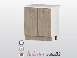 Долен кухненски шкаф Хавана B2 80 см. - дъб норте