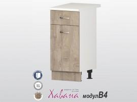 Долен кухненски шкаф Хавана B4 40 см. - дъб норте