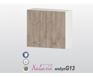 Горен кухненски шкаф Хавана G13 80 см. - дъб норте