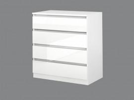Скрин Лео 4 - Бяло гланц