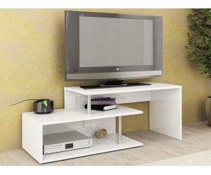 ТВ шкаф Алфа 50 - Бяло гланц