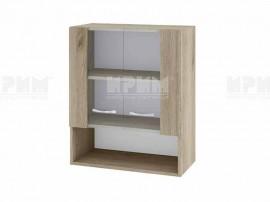 Горен кухненски шкаф с витрини Сити АРДА-9 - 60 см.
