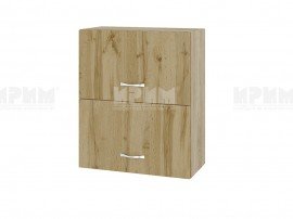 Горен кухненски шкаф Сити АРДД-11 с хоризонтални врати - 60 см.