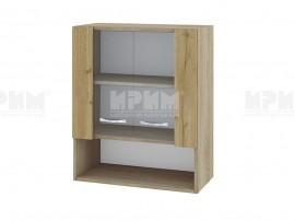 Горен кухненски шкаф с витрини Сити АРДД-9 - 60 см.