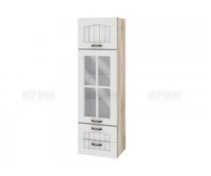 Горен кухненски шкаф Сити АРФ-Бяло фладер-04-101 МДФ - 40 см.