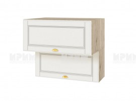 Горен шкаф за кухня Сити АРФ-Бяло мат-09-107 МДФ - 80 см.