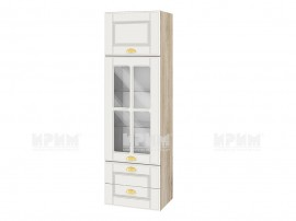 Горен шкаф за куфня Сити АРФ-Бяло мат-09-101 МДФ - 40 см.