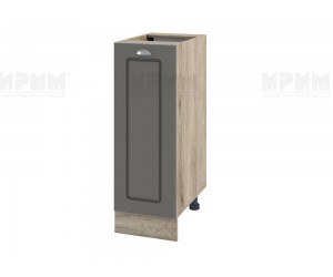 Долен шкаф за кухня Сити АРФ-Цимент мат-06-20 МДФ - 30 см.