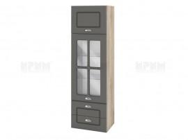 Горен шкаф за кухня Сити АРФ-Цимент мат-06-101 МДФ - 40 см.