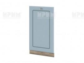 Врата за вградена съдомиялна Сити АРФ-Деним мат-06-38 МДФ - 45 см.