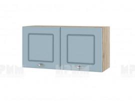Горен шкаф за кухня Сити АРФ-Деним мат-06-108 МДФ - 80 см.