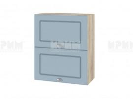 Горен шкаф за кухня Сити АРФ-Деним мат-06-11 МДФ - 60 см.