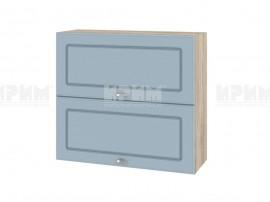 Горен шкаф за кухня Сити АРФ-Деним мат-06-12 МДФ - 80 см.