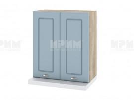 Горен кухненски шкаф за аспиратор Сити АРФ-Деним мат-06-13 МДФ - 60 см.