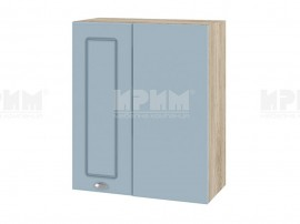 Горен кухненски шкаф за ъгъл Сити АРФ-Деним мат-06-17 МДФ - 60 см.