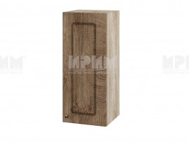 Горен шкаф за кухня Сити АРФ-Дъб натурал-06-1 МДФ - 30 см.