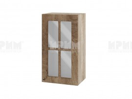 Горен шкаф за кухня Сити АРФ-Дъб натурал-06-102 МДФ - 40 см.