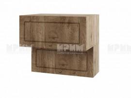 Горен шкаф за кухня Сити АРФ-Дъб натурал-06-107 МДФ - 80 см.
