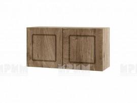 Горен шкаф за кухня Сити АРФ-Дъб натурал-06-108 МДФ - 80 см.