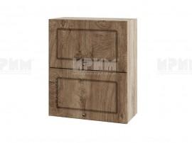 Горен шкаф за кухня Сити АРФ-Дъб натурал-06-11 МДФ - 60 см.