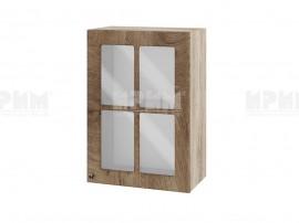 Горен шкаф за кухня Сити АРФ-Дъб натурал-06-118 МДФ - 50 см.