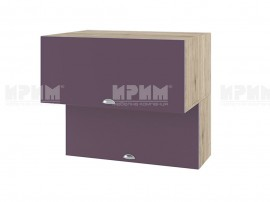 Горен шкаф за кухня Сити АРФ-Лилаво мат-05-107 МДФ - 80 см.