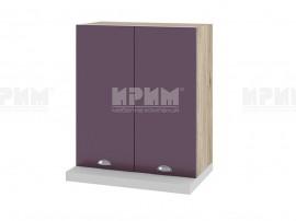 Горен кухненски шкаф за аспиратор Сити АРФ-Лилаво мат-05-13 МДФ - 60 см.
