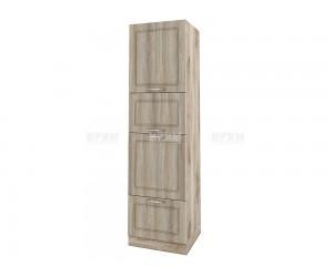 Колонен кухненски шкаф Сити АРФ-Сонома-02-48 МДФ - 60 см.